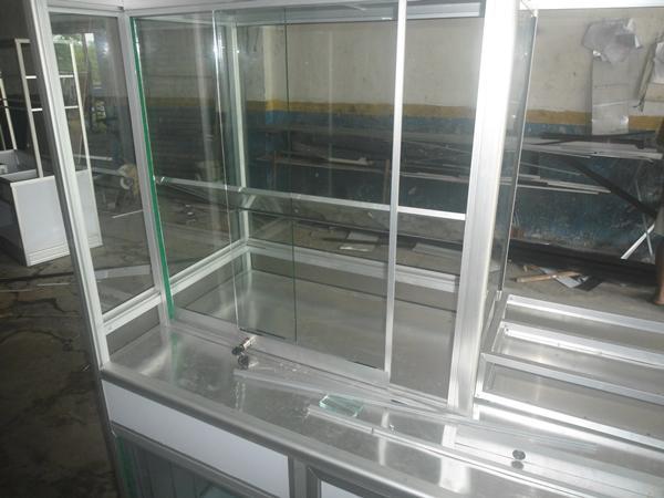 contoh desain gerobak alumunium