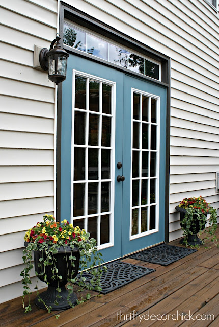 Refuge by Sherwin Williams on French doors