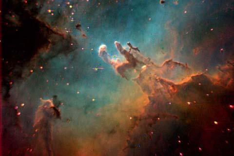 1080P Eagle Nebula - Pics about space