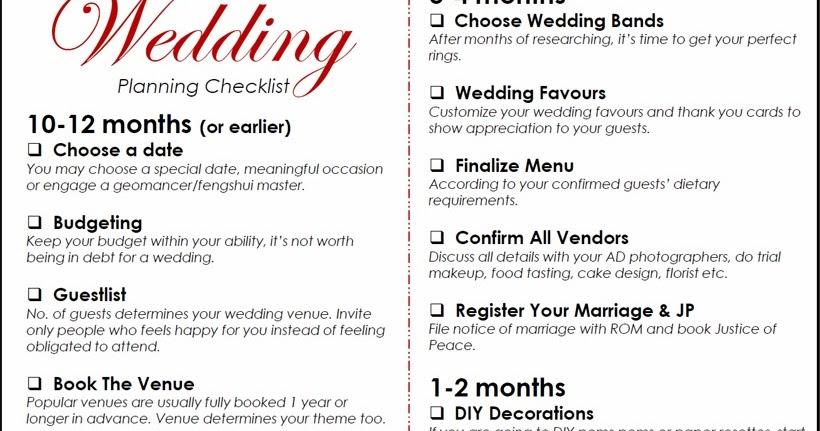 The Ultimate Wedding Planning Checklist How To Plan A Wedding: Don't Be A Bridezilla Wedding Planning Checklist