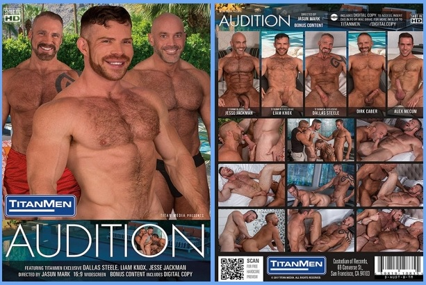 TitanMen Auditions DVD Gay Porn Gayrado Online Shop