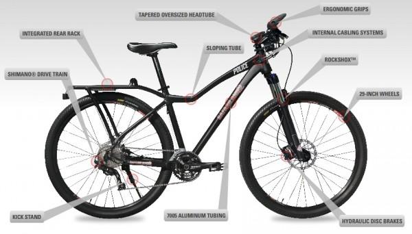 The Bicycle Mechanic: Kona Police Bicycle