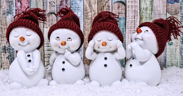 Image: Cute Snowmen, by Alexandra / München on Pixabay