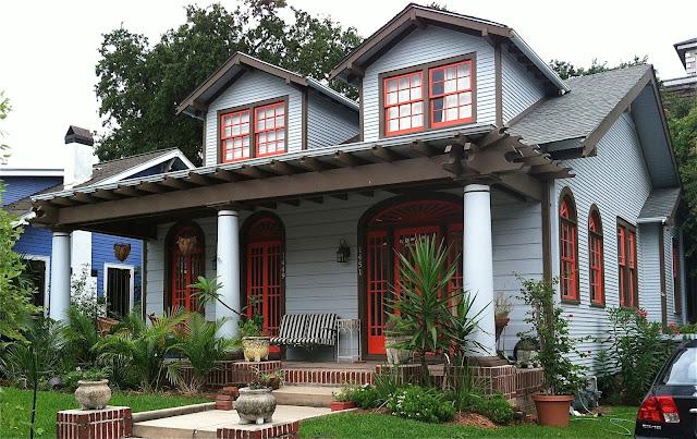 Contoh cat tampak depan rumah rumah minimalis