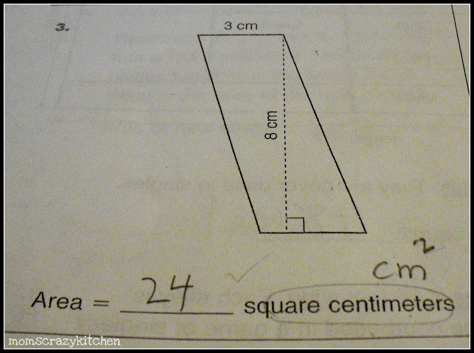 Mom S Crazy Kitchen Horrible Math