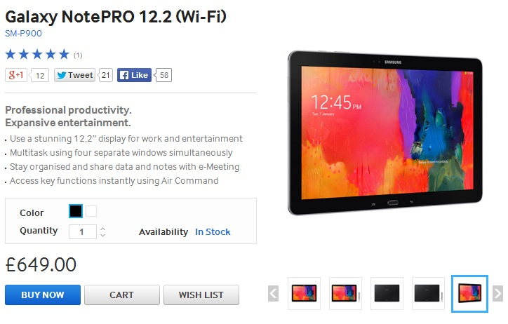 Samsung Galaxy NotePRO 12.2 feature review