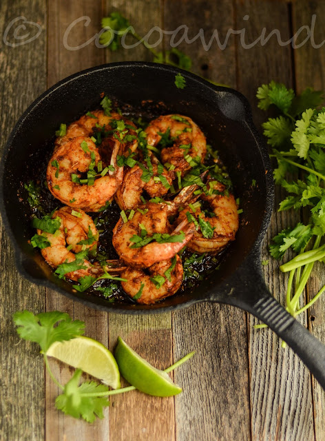 Easy Pan Fried Shrimps with Homemade Taco SeasoningEasy Pan Fried Shrimps with Homemade Taco Seasoning: Cocoawind