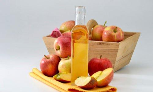 vinagre de manzana en el pelo