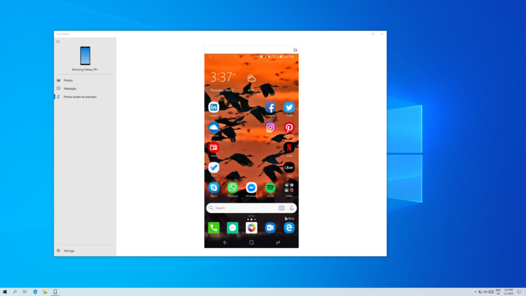 Microsoft-Android-Windows 10