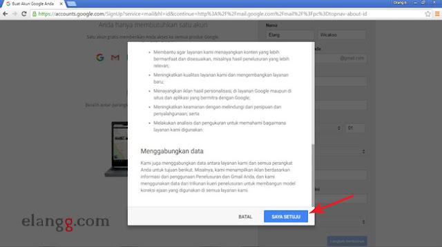 cara membuat email, buat email, daftar email, cara membuat daftar akun gmail