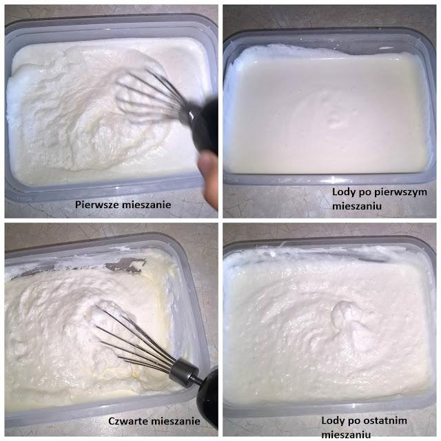 jak zrobić i mrozić domowe lody bez maszynki