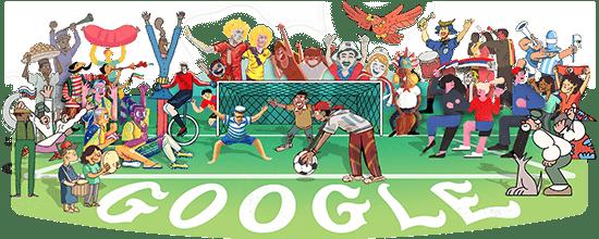 Google günün logosu - doodle (dünya kupası 2018)