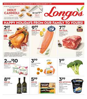 Longos Flyer a fresh tradition valid December 15 - 21, 2017
