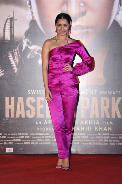 Shraddha Kapoor Stills At Haseena Parkar Trailer Launch