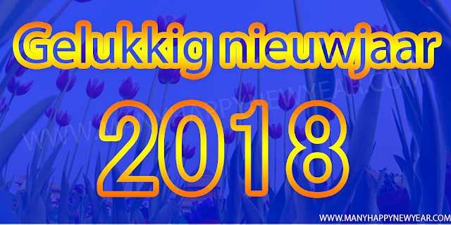 New Year 2018 Msg in dutch