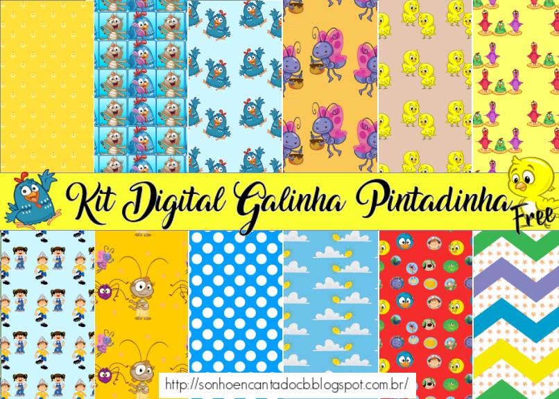 Kit Digital Galinha Pintadinha
