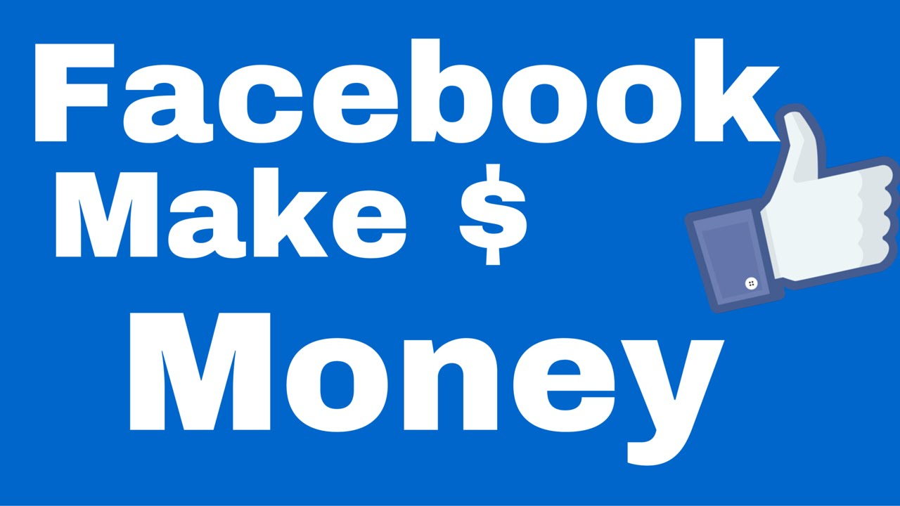 How to Make Money from Facebook by Standardkay