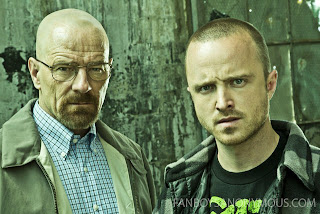 Bryan Cranston and Aaron Paul Breaking Bad