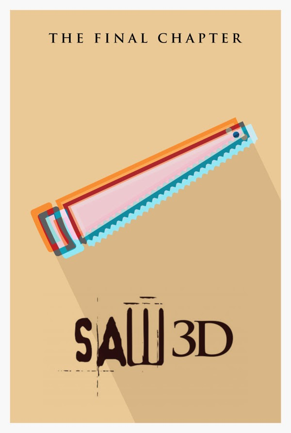 Danish Ahmed, Literal Movie Posters, Saw 3D