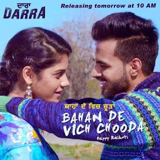 Bahan De Vich Chooda Happy Raikoti Lyrics