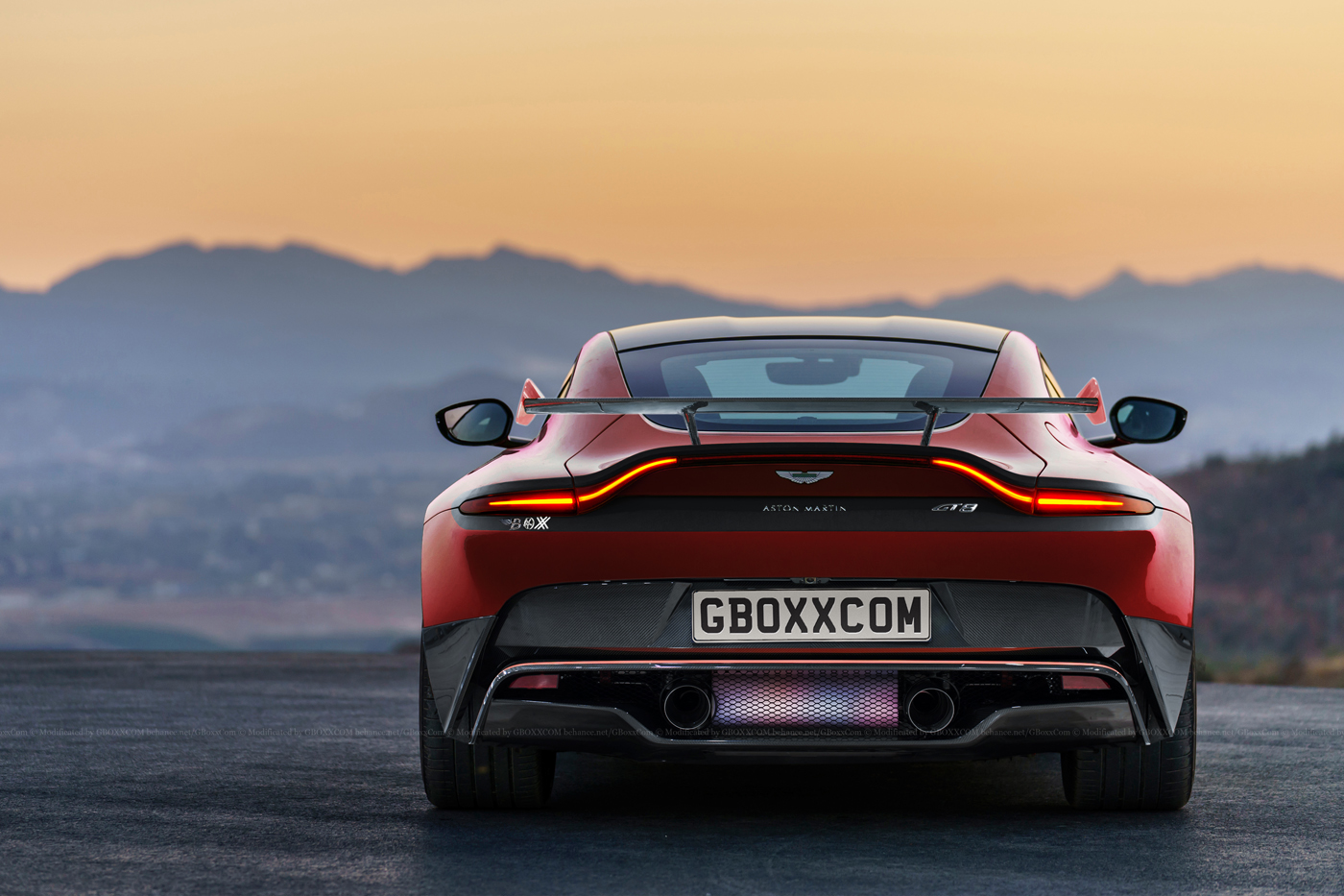 Aston Martin Gt8 >> New Aston Martin Vantage Dreamed Up In GT8 Guise - Types cars
