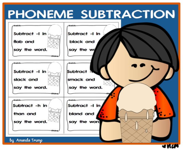 "LANGUAGE ARTS – ""PHONEME SUBTRACTION"" – The Best of Teacher ..."