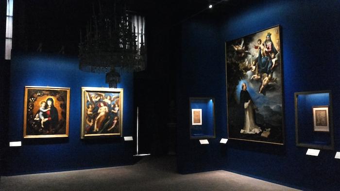 Mostra Jacopo Ligozzi Firenze - Allestimento sale religiose