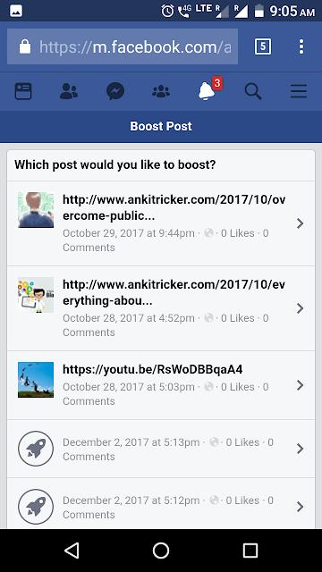 facebook advertising boost
