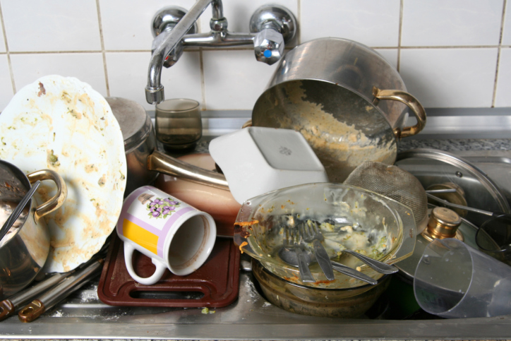 High Quality A Dirty Kitchen Is Chaotic And Disorganized. You Donu0027t Have Much Room To  Spread Out And Work. Your Utensils Are Never At Your Fingertips, And If  They Are, ...