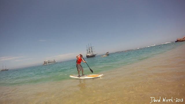 how to paddle board, ocean, first time