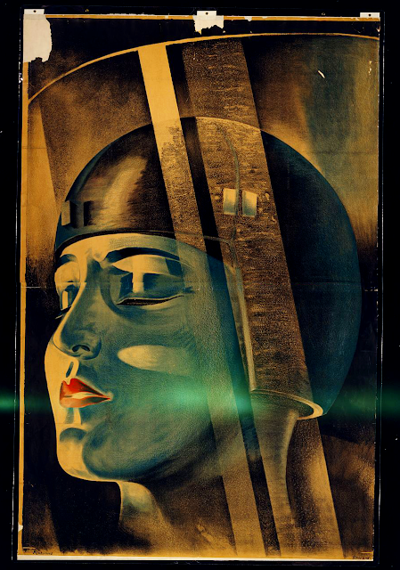 Poster for Fritz Lang's film