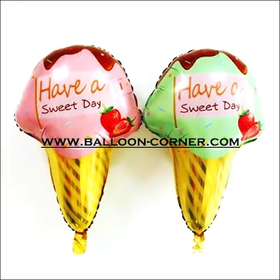 Balon Foil HAVE A SWEET DAY Ice Cream