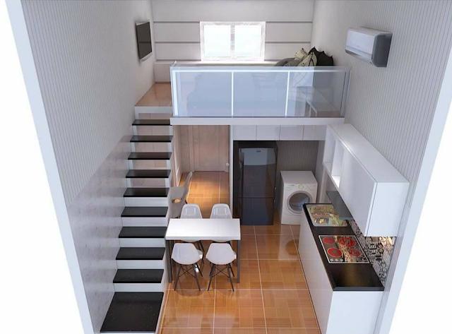Thiết kế căn hộ mini Việt Nam House Tower