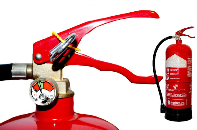 fire extinguisher, fire safety, fire prevention