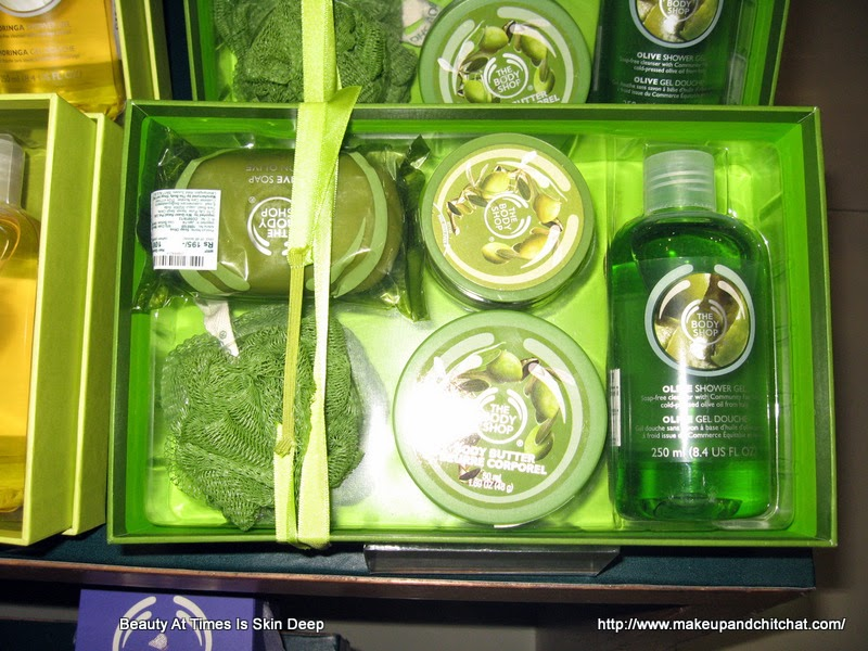 The Body Shop Store Olive Box