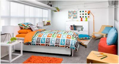 Dekorasi kamar anak laki-laki remaja