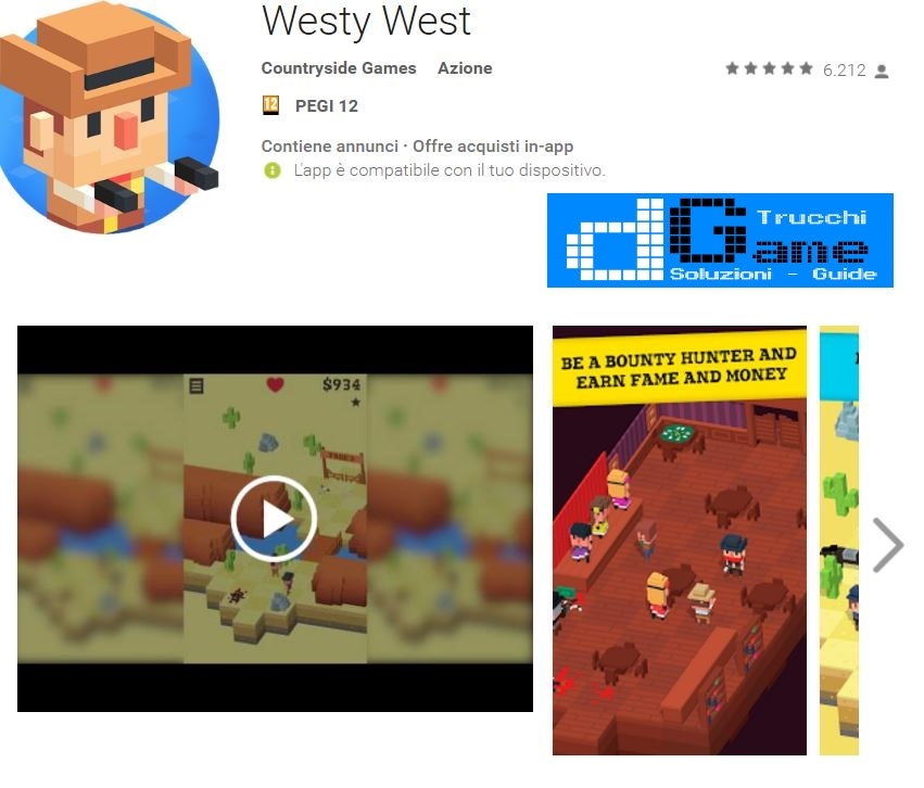 Trucchi Westy West Mod Apk Android v1.39