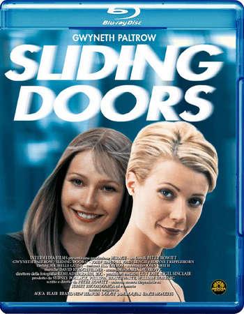 Poster Of Sliding Doors 1998 English 300MB BRRip 480p ESubs Free Download Watch Online Worldfree4u