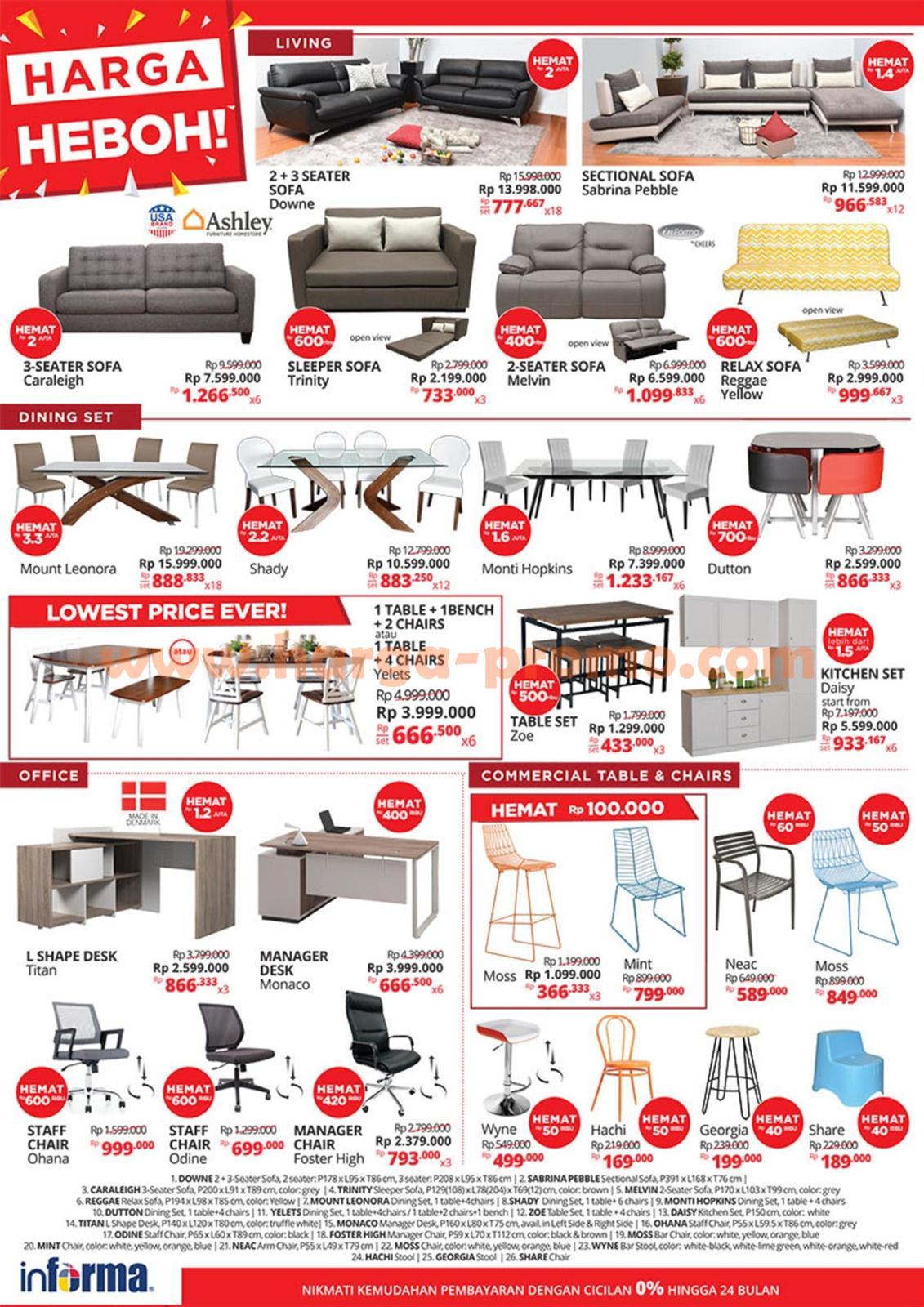 Katalog Sofa Informa 2017 Review Home Co Voucher Rma Source Dapatkan Update Promo Terbaru Di Fanspage