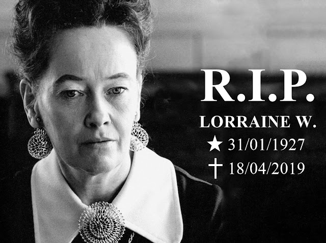 lorraine warren, invocação do mal, morte, rest in peace, investigadora paranormal, demonologista