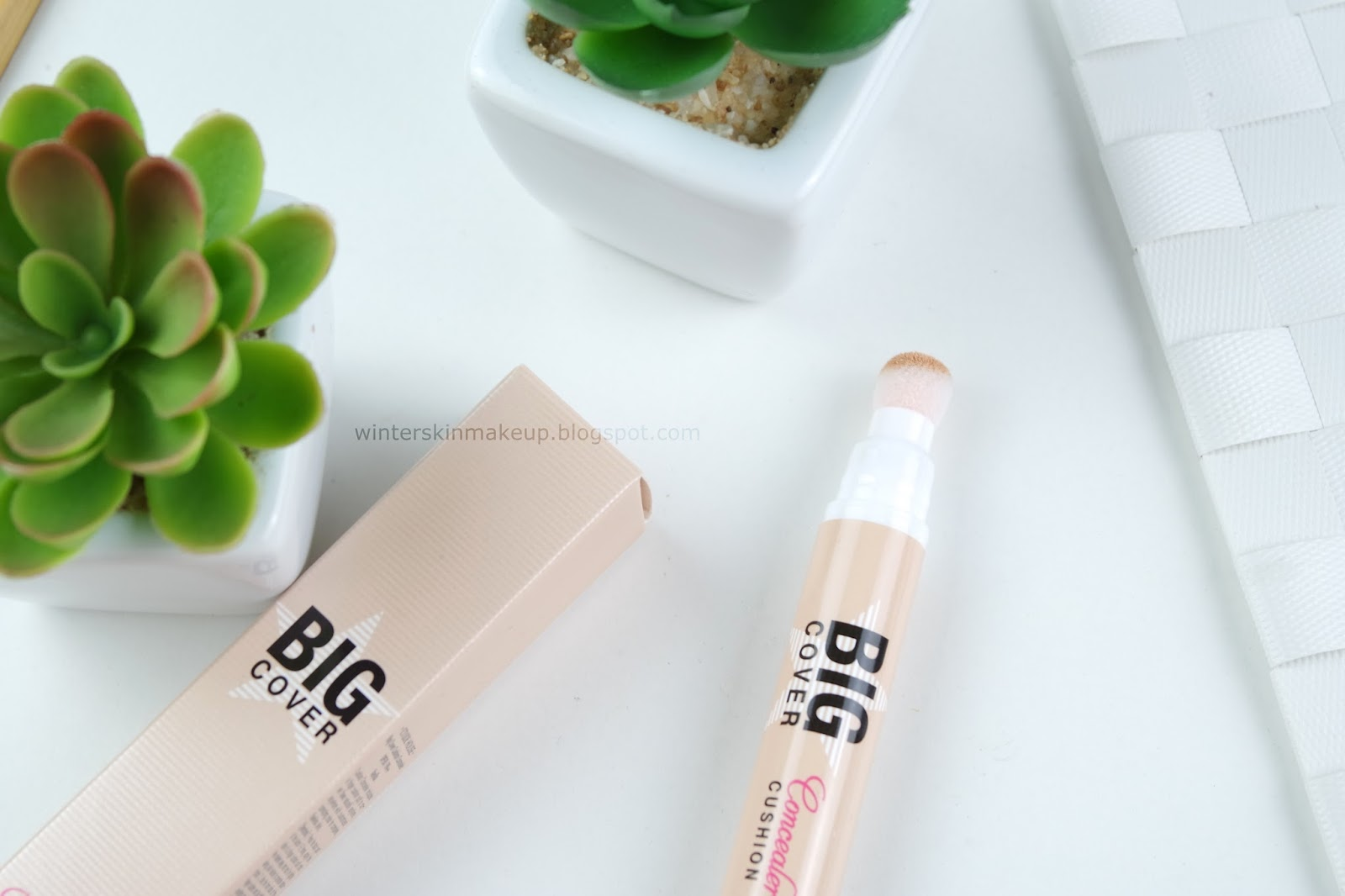 Etude House Big Cover Cushion Concealer - Vanilla