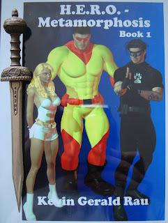 Portada del libro H.E.R.O. Metamorphosis, de Kevin Rau