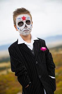 maquillage Halloween Calaveras blog www.unjourmonprinceviendra26.com