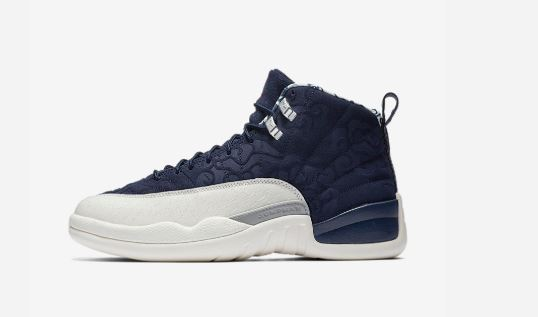 534997bc2a8c Here is a look at the new Air Jordan 12 International Flight Retro Sneaker  available at 10am EST HERE Villa and at HERE at footaction.