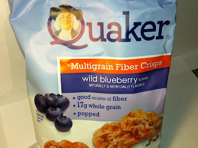 Crazy Food Dude Review Quaker Wild Blueberry Mulitgrain