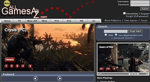مواقع لتحميل ألعاب الكمبيوتر PC,PS2