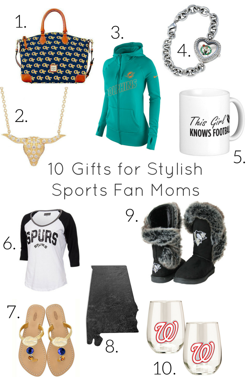 sports fan gift ideas for mother's day