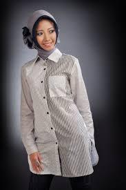 Model Baju Muslim Kemeja Modern Terbaru