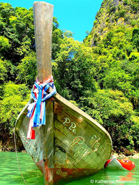 Capture the Colour Green - Long-Tail Boat Thailand