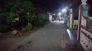 Gotong Royong Guyub Rukun, Penambalan Jalan Masuk Kampung KB Gumulan